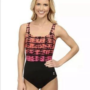 Tyr Bondi Beach Tie Dye One Piece Swimsuit